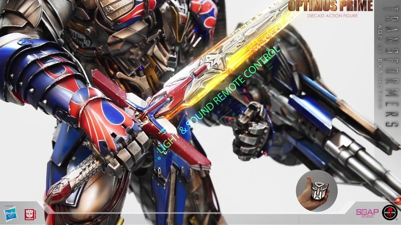 Soldier Story Hobby Transformers Age of Extinction Optimus Prime 20inch Diecast Action Figure