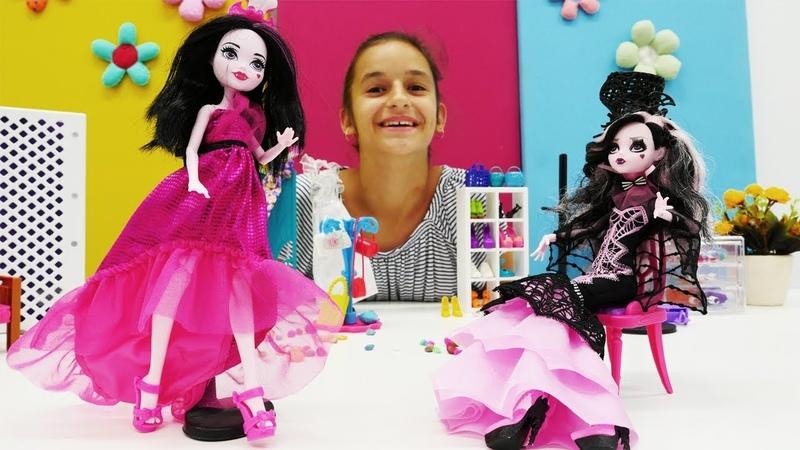 Дракулаура и стильный шоппинг с мамой - Видео для девочек
