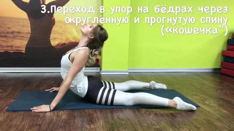 Упражнения на развитие гибкости спины