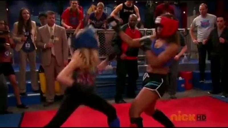 Jennette McCurdy KOs MMA champ