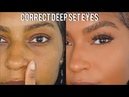 How to: Conceal Deep Set Eyes| Easy Beginner Friendly