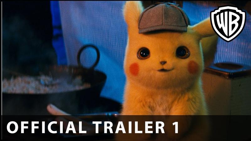 POKÉMON Detective Pikachu – Official Trailer 1 - Warner Bros. UK