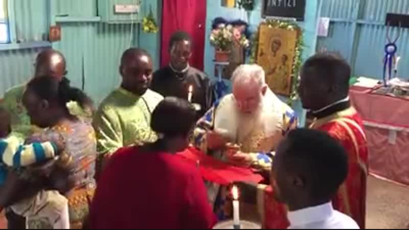 литургия в африке
