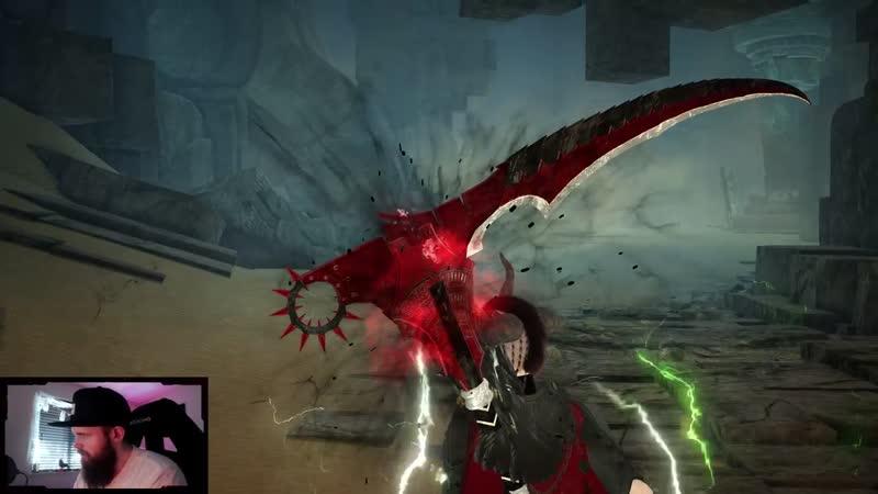 Arsha awakening weapon skin (Sorceress)