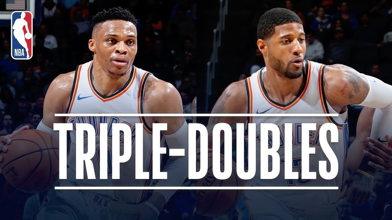 Westbrook PG Etch Names In Triple Double History February 11 2019