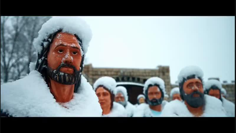Зимняя сказка в с Клятли Нижнекамский район красивый святой источник