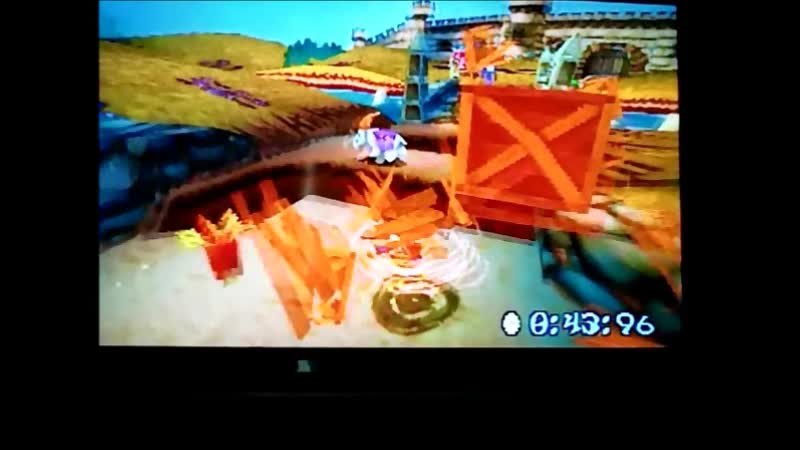 Crash Bandicoot 3 Warped (NTSC-J).Time Trial.Double Header.5220.Крутяяяяк)