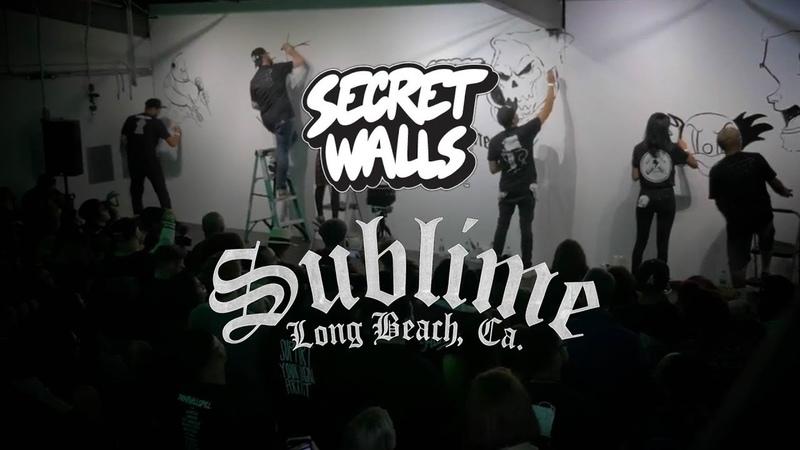 Sublime x Secret Walls Art Show