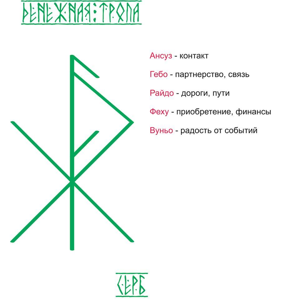 "Став ""Денежная тропа""Автор Серб"