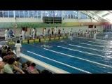 100 метрів брас хлопці Національний Кубок України з плавання 2013/11/1—4