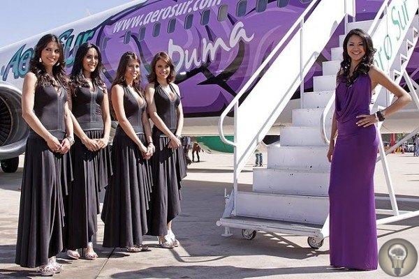 Во что были одеты стюардессы, с которыми летали наши отцы и деды