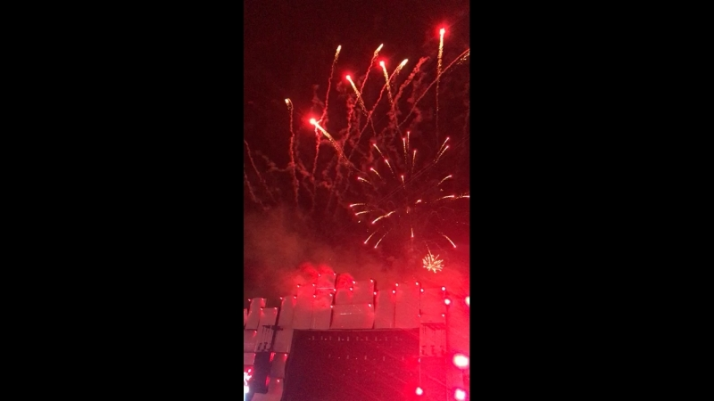 Rock in Rio Lisbon 2018 - FireworksMUSE