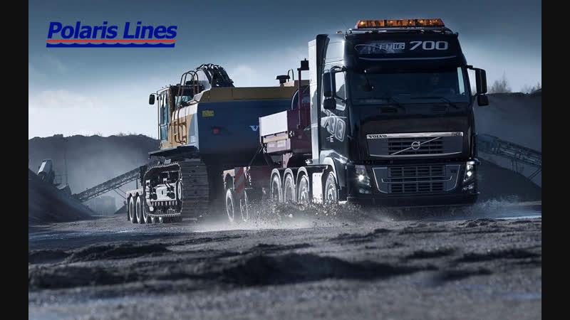Конвой в Euro Truck Simulator 2 от Polaris Lines 17.10.2018