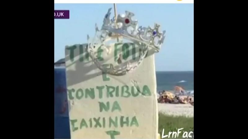 песчанный король в бразилии