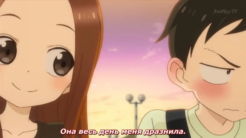 Мастер дразнилок Такаги OVA Русские субтитры Karakai Jouzu no Takagi san