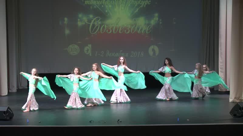 ТаиС Изумруд Танец с шалью Дети 1 Дебют Ориентал классика Малая группа