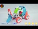 SK Soft Rubber DIY Nut Car Blocks Toys for 5 Years Old Children