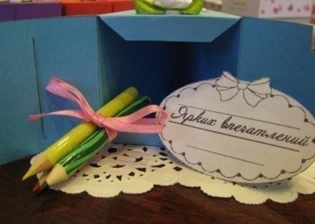 Интересный подарок - торт с пожеланиями: goodspider