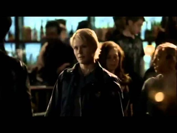 TVD 1X08 Stefan Elena Damon kills Lexi Elena tries to stop him from killing Damon