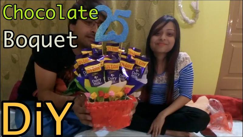 Diy Chocolate boquet in rs350