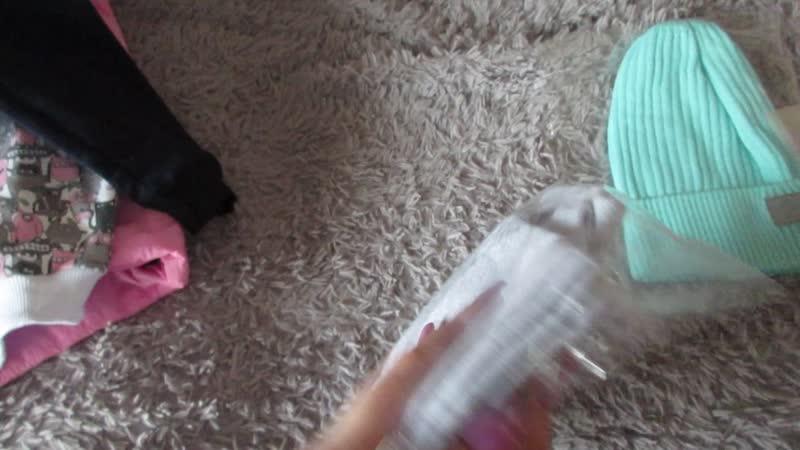 Видеообзор по закупке НОН детские шапки и одежда