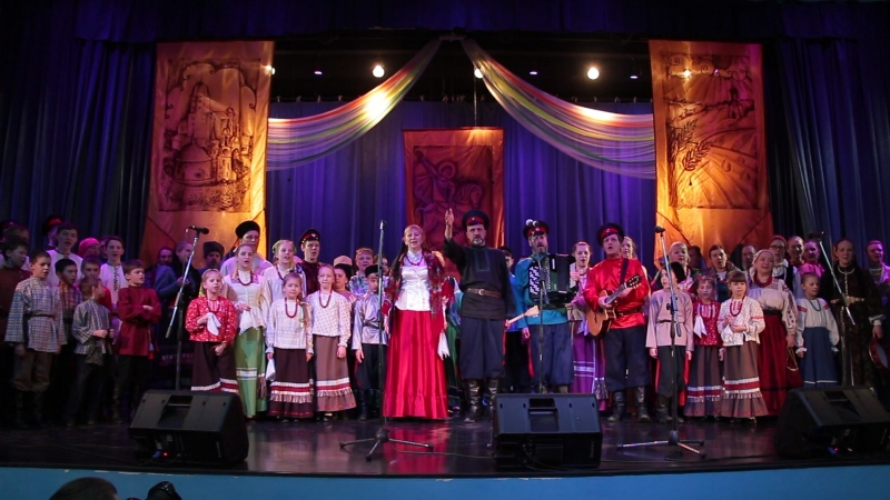 Тропарь VII Открытый фестиваль казачьей культуры в Выборге