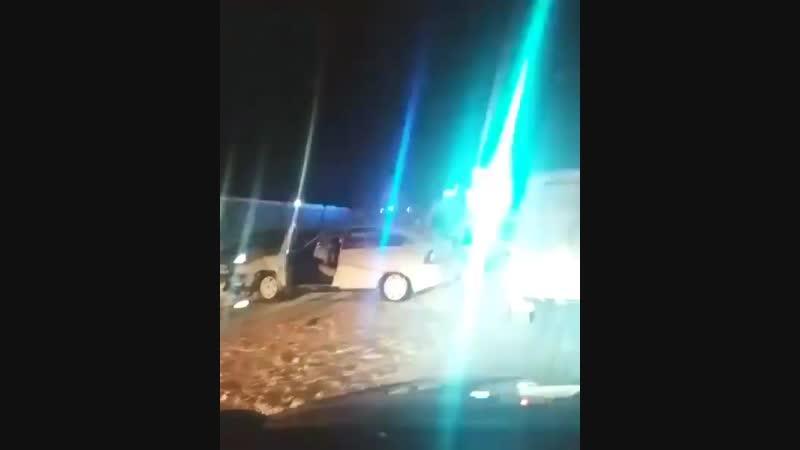 Несколько автомобилей столкнулись на Димитровградском шоссе 😔