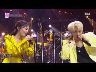Lee hi(이하이) - no one(누구 없소) (feat. b.i. of ikon) @인기가요 inkigayo 20190609