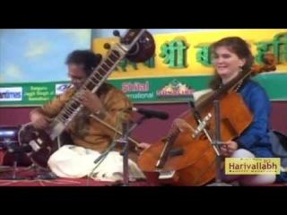 Pandit Shubendra Rao (sitar) Saskia Rao de-Haas (cello) - Part 2 (Live at The 136-th Harivallabh (23-25.12.2011)