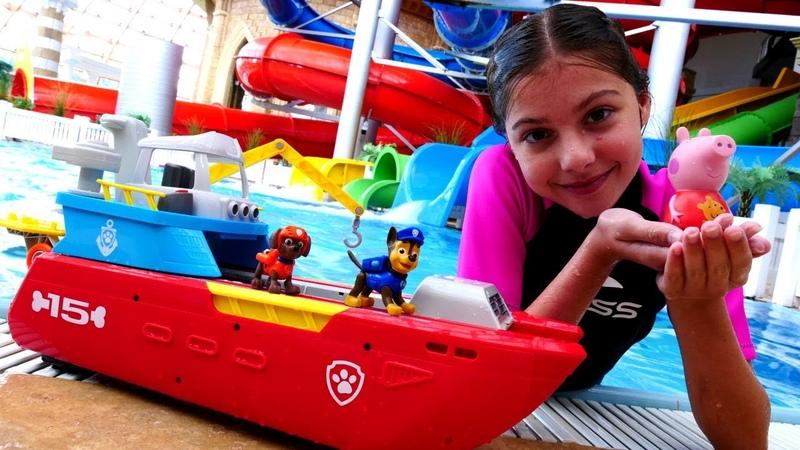 Работа для Полен - Смотритель аквапарка - Видео для девочек
