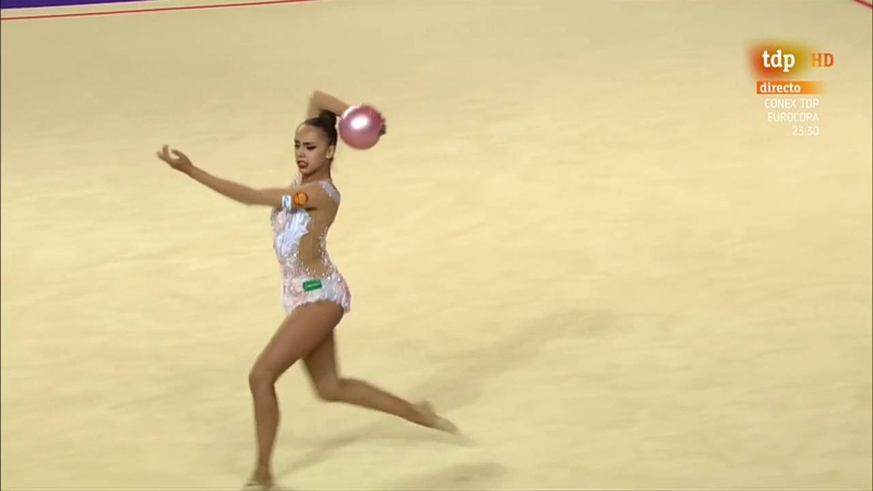 Margarita Mamun. 2016 European Championships. AA. Ball