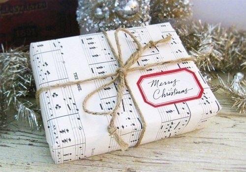Новогоднее украшение подарков своими руками
