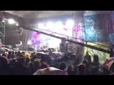 Александр Пушной представляет группу ЯнеЯ (Удомля) в Сосновом бору на гала концерте.