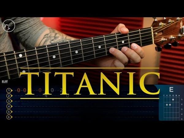 Titanic Theme | My Heart Will Go On Guitar Tutorial | TABS Christianvib