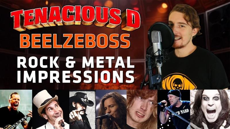 Tenacious D - Beelzeboss (ROCK METAL IMPRESSIONS COVER)