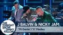 J Balvin Nicky Jam:Mi Gente/X Medley