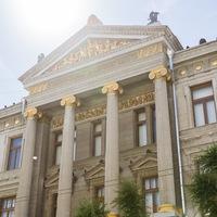 Логотип Самарский художественный музей