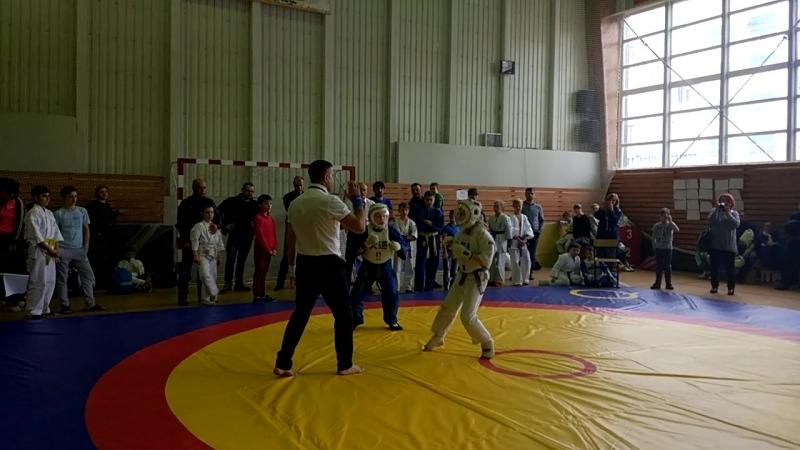 23.04.18.г.Псков.Антон в синем кимоно.