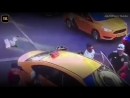 Moscow crash taxi driver feared crowd lynching
