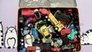 Крутые машинки из коробки. Box with cool toy cars. Киндеры. Коллекционные игрушки
