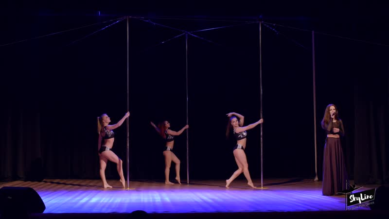 Pole Art Трио Таранова Анастасия, Долганова Мария и Бодарева Дарья