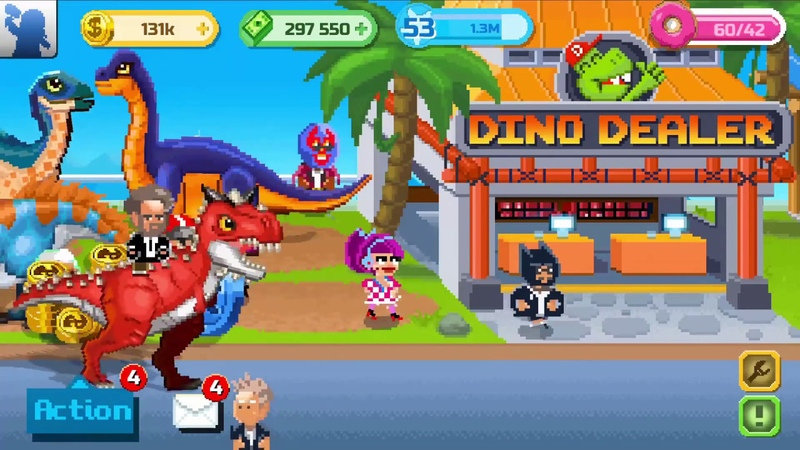 Обновление Dinosaur Factory - Геймплей Трейлер