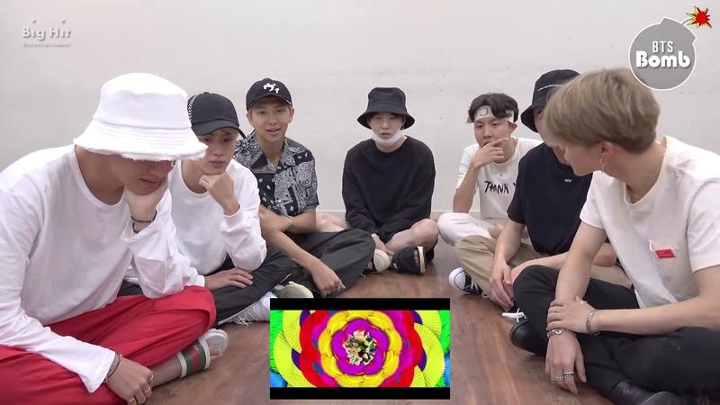 BANGTAN BOMB BTS 'IDOL' MV reaction BTS 방탄소년단