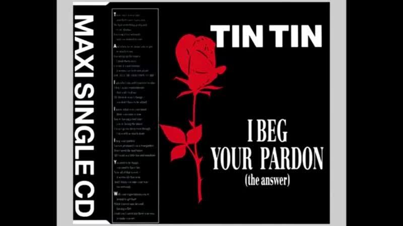 Tin Tin - I Beg Your Pardon