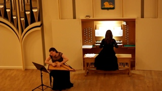 J. S. Bach - Trio sonata BWV 1038 (2, 3, 4), transcription for Organ&Gusli by Elizaveta Panchenko