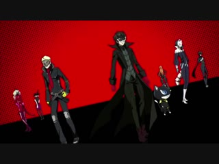 Persona 5: The Animation: Stars and Ours - тизер.