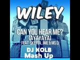 Wiley feat. Skepta Ms D. JME vs Eden ES Shalev - Can You Hear Me (DJ KOLB Mash Up)