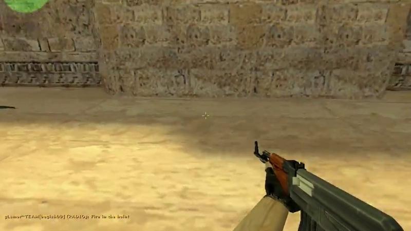 интересный прострел в Counter-Strike 1.6, респаун контр террористов