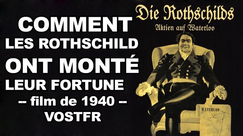 Les Rothschilds - Die Rothschilds, Aktien auf Waterloo - 1940 - film complet (VOSTFR)