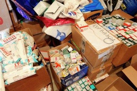МЧС России направит гуманитарную помощь для беженцев в Ростовскую область